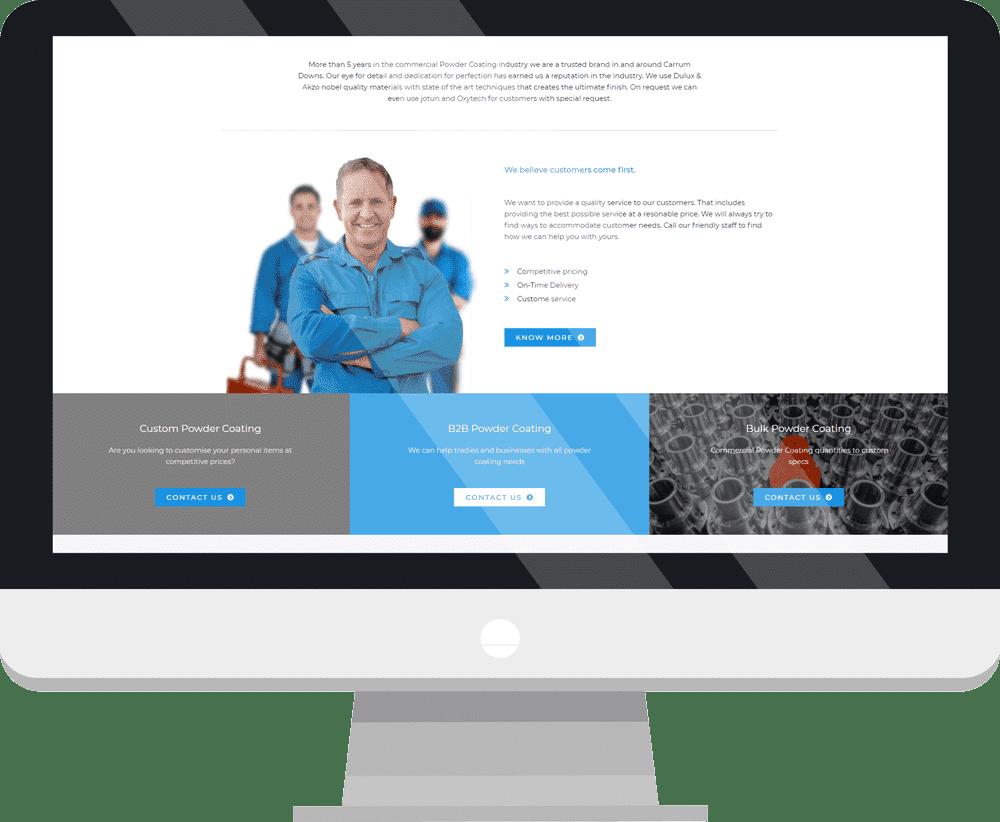 desktop 2 Kilan Powder Coating - Case Study