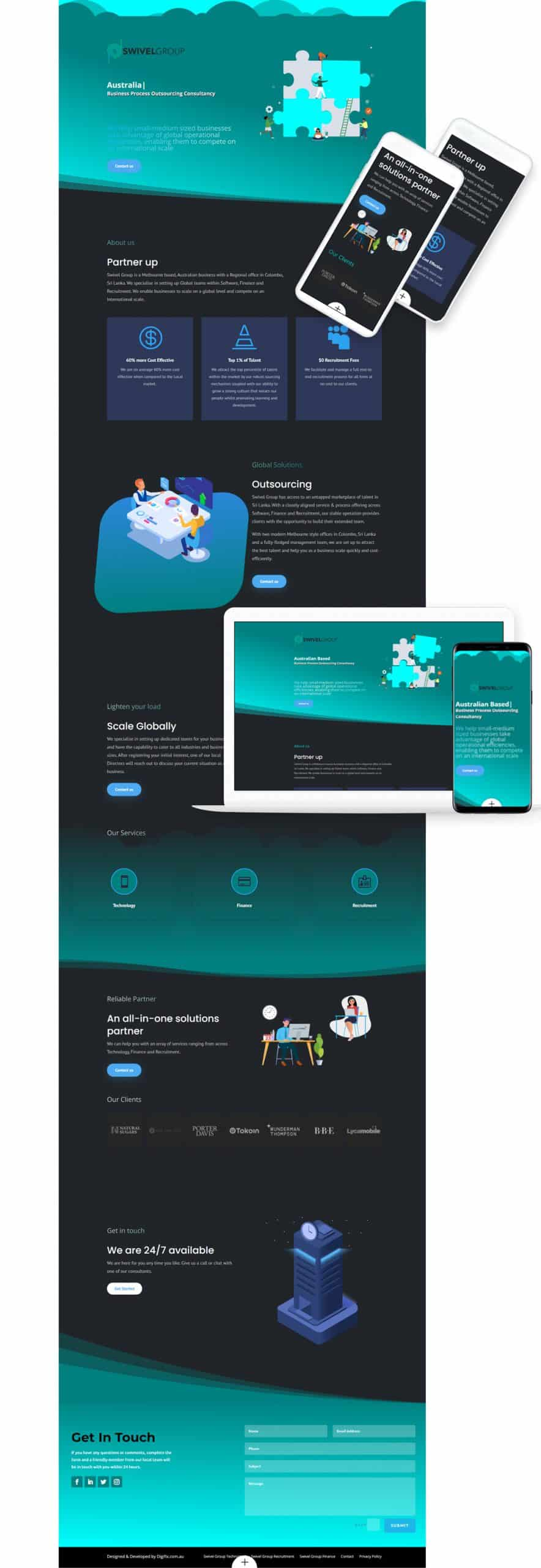 full page scaled Swivel Group - Case Study