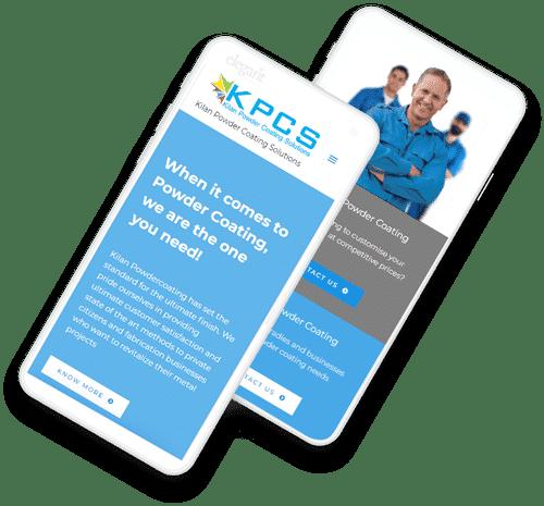 phones Kilan Powder Coating - Case Study